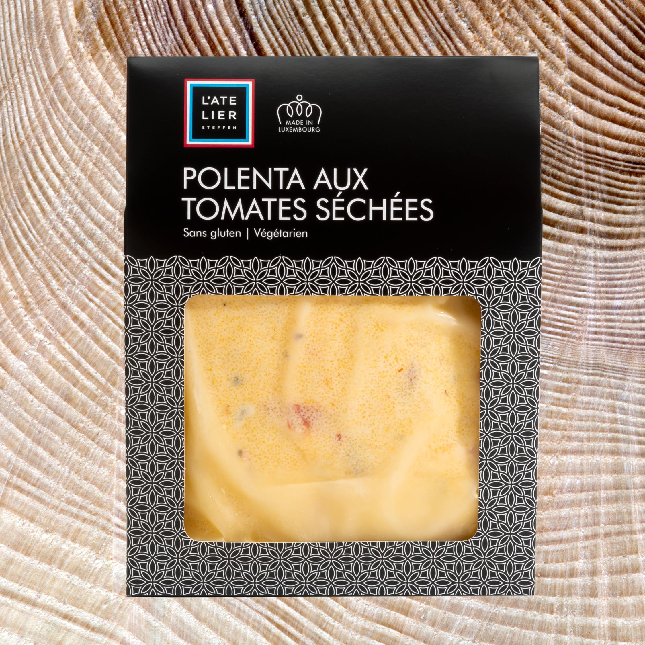 Polenta aux tomates séchées