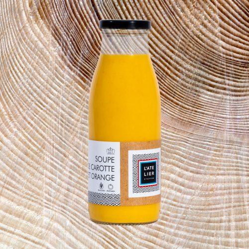 Soupe de carotte et orange