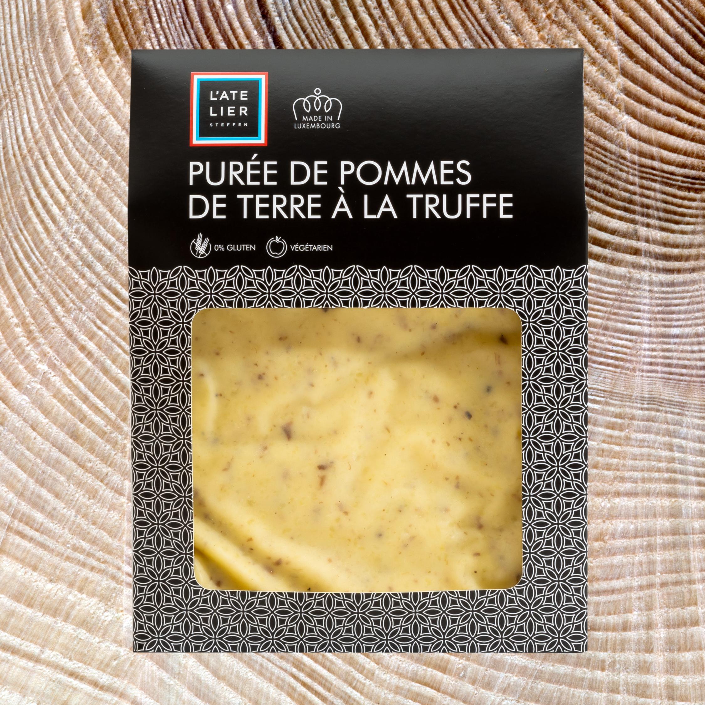 Purée de pommes de terre à la truffe