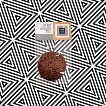 Cookie amandes et chocolat noir