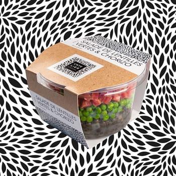 Salade de lentilles vertes et chorizo