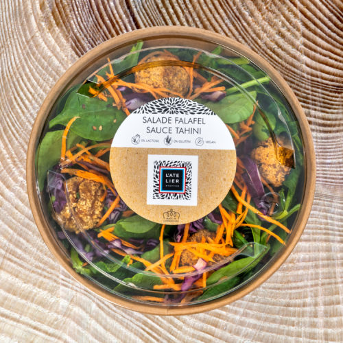 Salade Falafel sauce tahini