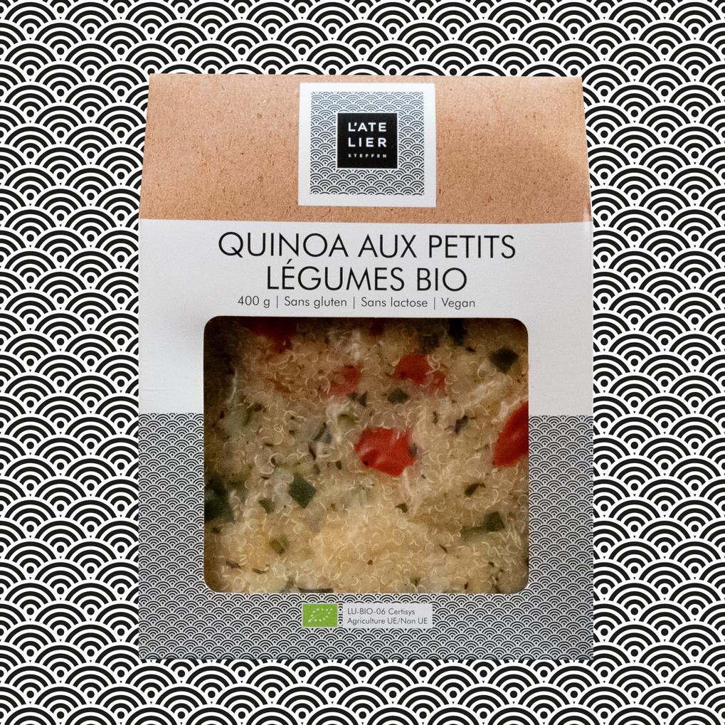 Quinoa aux petits légumes BIO