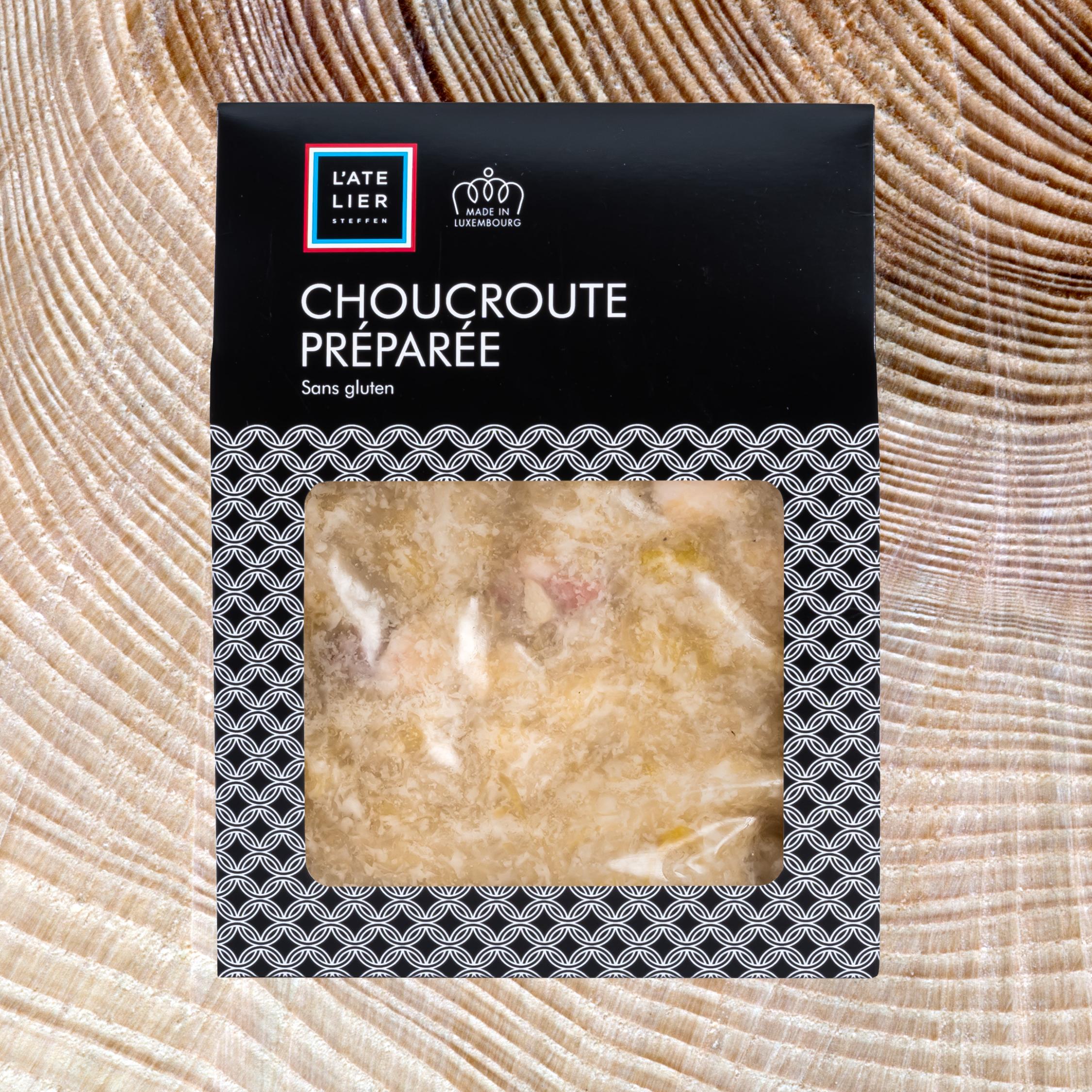 Choucroute préparée
