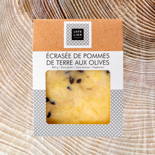 Écrasée de pommes de terre aux olives