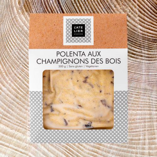 Polenta aux champignons des bois